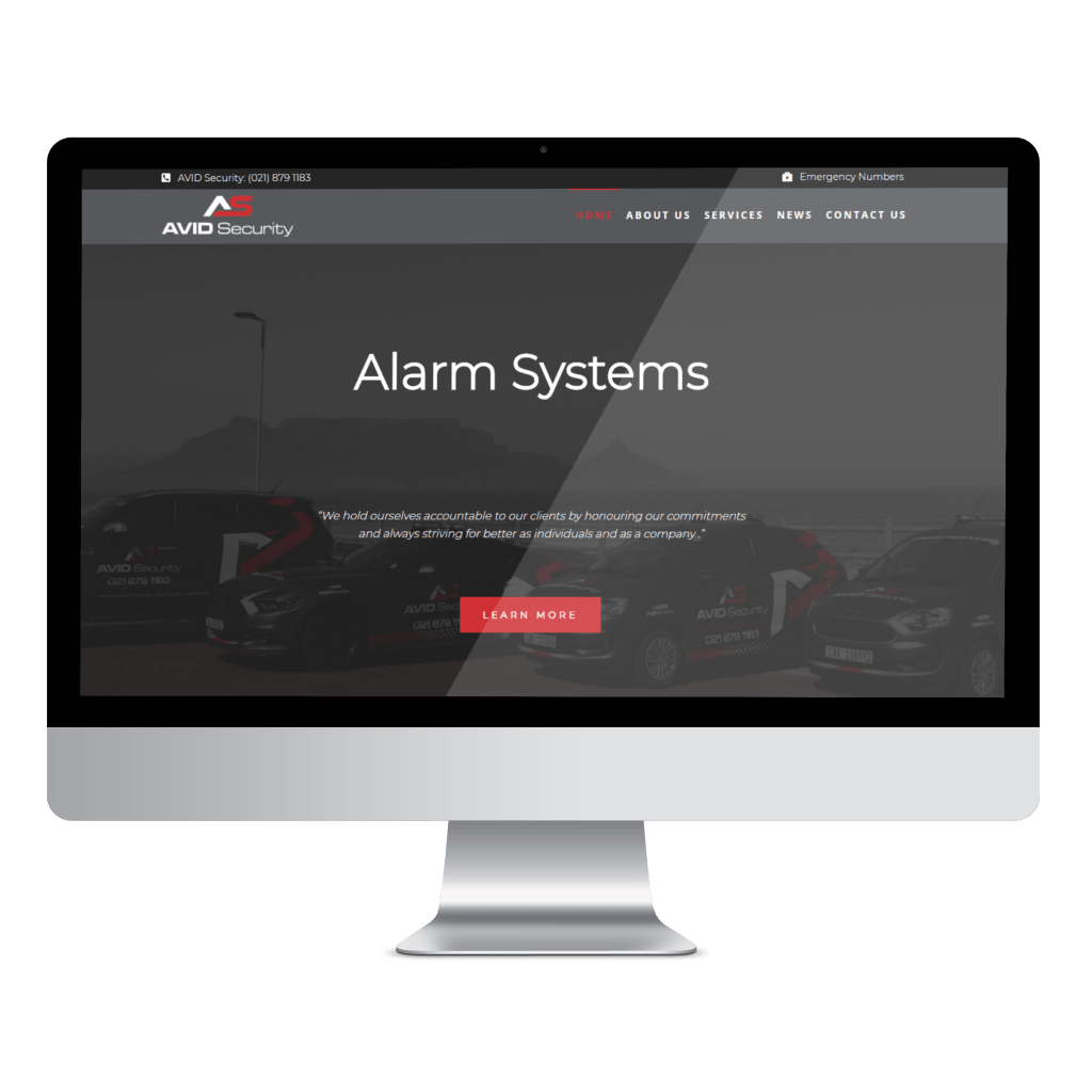 avid security website